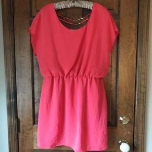 City Studio Coral Blouson Mini Dress Size XL